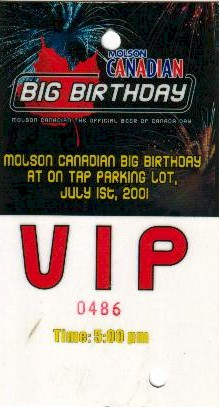 Molson Canadian Big Birthday